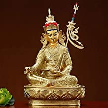 PPCP Lotus Buddha Tudor Buddha Figure Meditation Sitting Posture Worship Charming and Quiet Small Buddha Statue Buddhist S...