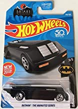 Hot Wheels 2018 DC Batman Batman: The Animated Series Batmobile 256/365, Black