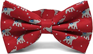 TieMart Leopard Print Bow Tie