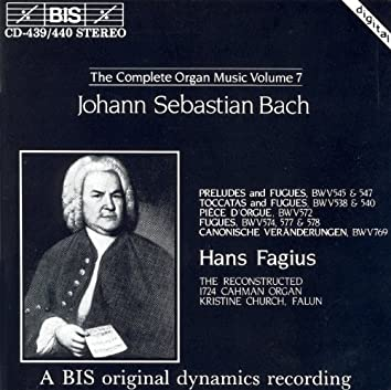 Bach, J.S.: Organ Music (Complete), Vol. 7