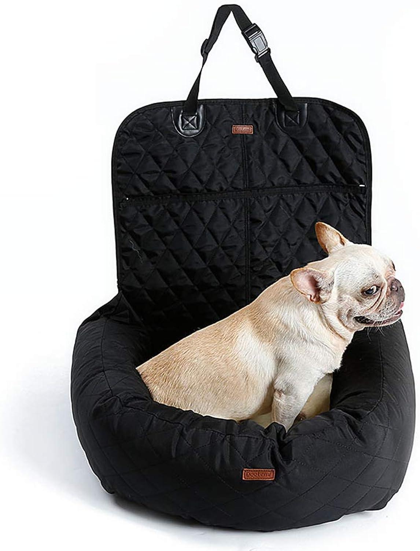 MOIMK Car Mat Multifunctional Pet Bed Dog Car Mattress Premium Before And After Padded Pet,Black