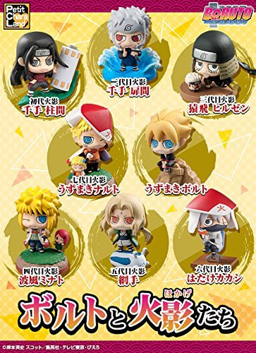 OIVA Set of 6 Pieces Naruto Mini Figure Collectible Model (Fifth Edition)