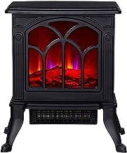Estufa eléctrica Chimeneas, quemador de leña Estufa de fuego eléctrica Chimenea eléctrica independiente Estufa de interior Estufa Estufa de leña Estufa eléctrica Protección contra sobrecalentamiento d