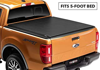 TruXedo Lo Pro Soft Roll Up Truck Bed Tonneau Cover | 531001 | fits 2019 Ford Ranger 5' bed