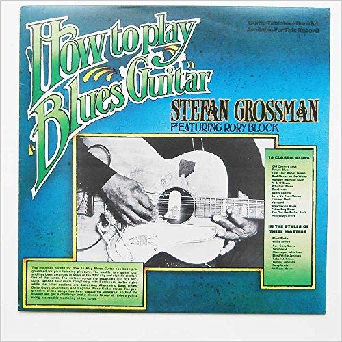 STEFAN GROSSMAN-how to play blues guitar KICKING MULE (LP vinyl record)