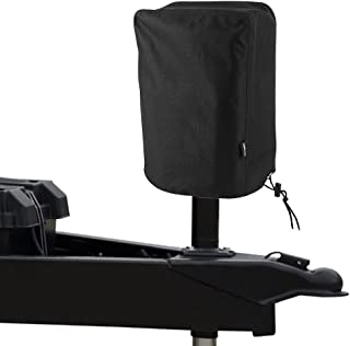 BougeRV 600D Polyester Electric Tongue Jack Cover Universal Trailer RV Electric Tongue Jack Protective Cover (Large Size 14″H x 5″W x 10″D)