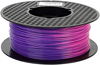 Color Changing with Temperature 3D Printer PLA Filament,from Purple Blue to Pink,1.75 mm, Dimensional Accuracy +/- 0.05 m...