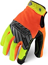 Ironclad Command Pro Work Gloves; Touch Screen Gloves Conductive Palm & Fingers, High..