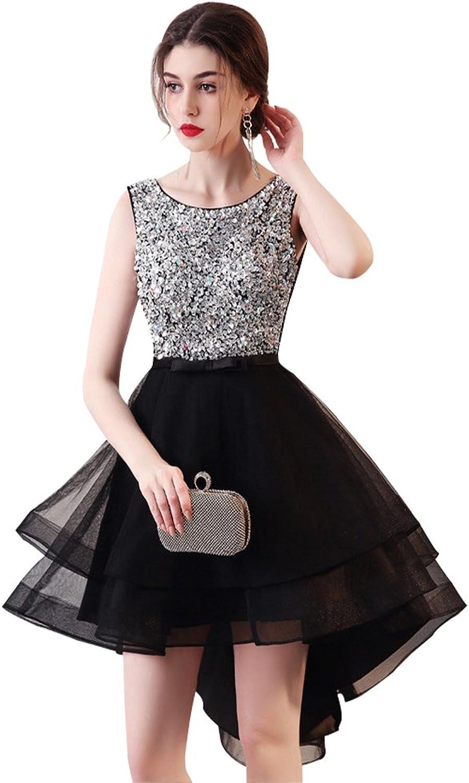 Epinkbridal Women's HighLow Homecoming Dress Keykole Back Short Prom Gowns
