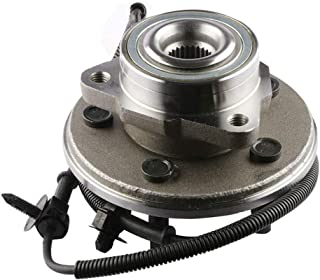 MOSTPLUS Wheel Bearing Hub Front Wheel Hub and Bearing Assembly 515050 for Aviator Mountaineer Explorer 4 Door with ABS 5 Lug