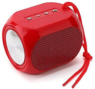 $91 » LKYBOA Small Bluetooth Speaker LED Light Portable Speakers Bass Stereo Speaker Outdoor Sound Box Support FM USB TF (Color...