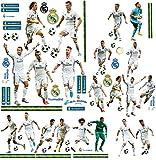 66 TLG. Set _ XL Wandtattoo / Sticker _  Fußball