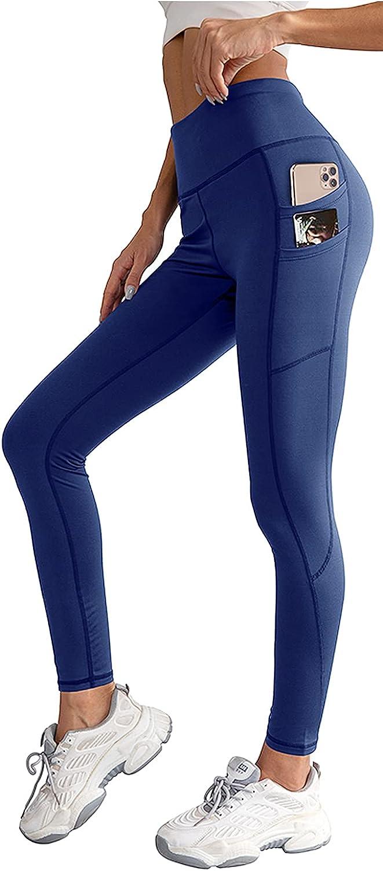 Max 87% OFF XIEERDUO Women's High Waisted Boston Mall Fleece Water Lined Leggi Resistant