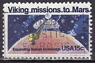 1995 US Postage Stamp 15c Viking Missions to Mars
