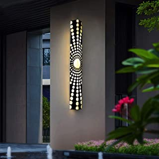Mopoq Led waterproof simple aisle wall lamp imitation marble outdoor outdoor lamp living room home villa modern garden lam...