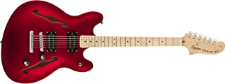 Squier by Fender エレキギター Affinity Starcaster®, Candy Apple Red