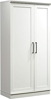 Sauder HomePlus Collection Storage Cabinet, Soft White finish
