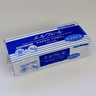 エルヴェールペーパータオルエコスマート小判シングル(200枚42袋入)