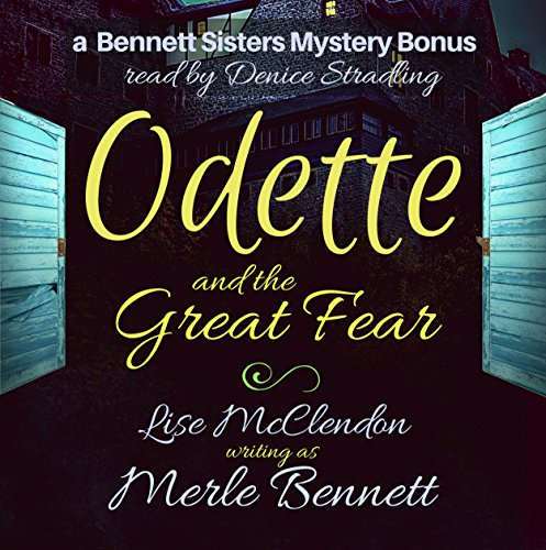 Odette and the Great Fear audiobook cover art