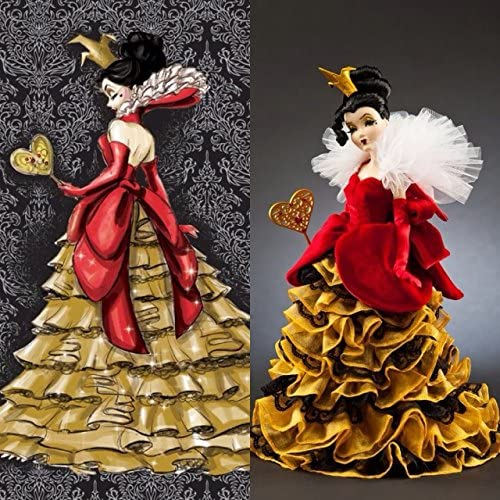 Queen of Hearts Disney Villains Limited Edition Designer Collection Doll with Certificate of Authenticity by Disney