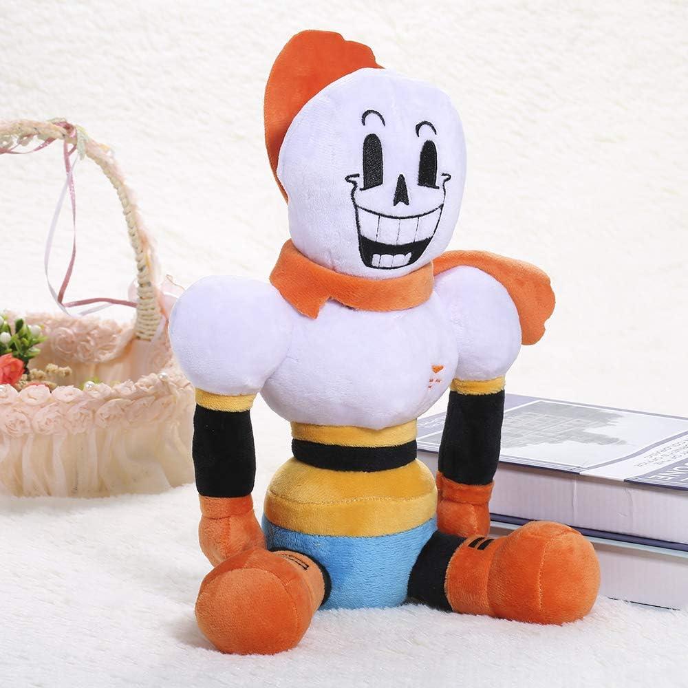 11.8inch Toy Hugger Game Cosplay Cushion Gift Pillow ans Plush Stuffed Doll.Papyrus Plush Figure.Plush Toy Doll Orange