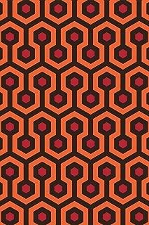 Overlook Hotel Retro Carpet Hexagon Pattern Art Print Cool Huge Large Giant Poster Art 36x54