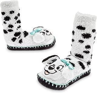 Disney 101 Dalmatians Slipper Socks for Girls White