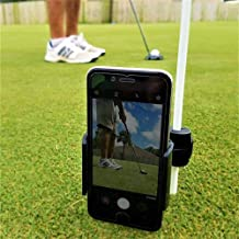 Golf Phone Holder Clip   Cell Phone Swing Recording Clip for Alignment Stick   Golf Accessories