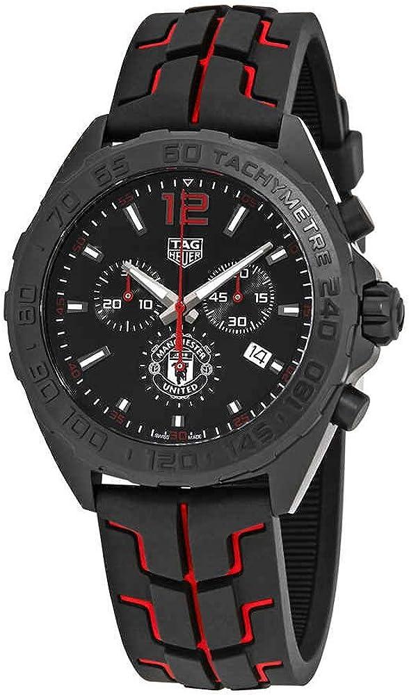 TAG Heuer Formula-1 Reloj de Hombre Cuarzo 43mm Correa de Goma CAZ101J.FT8027