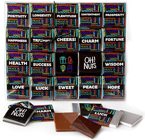 Oh Nuts Merry Christmas 2020 Chocolate Wishes Gift Set 20 Gourmet Belgium Chocolates Blessings product image