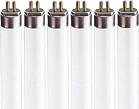 Luxrite LR20790 (6-Pack) F39T5/835/HO 39-Watt 3 FT T5 High Output Fluorescent Tube Light Bulb, Natural 3500K, 2925 Lumens, G5 Mini Bi-Pin Base