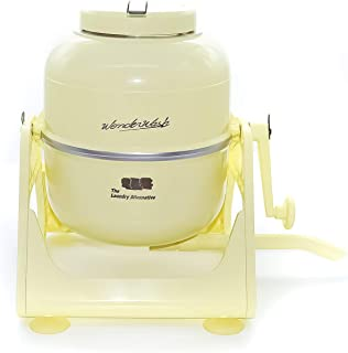 The Laundry Alternative Wonderwash Retro Colors Non-electric Portable Compact Mini Washing Machine (Yellow)