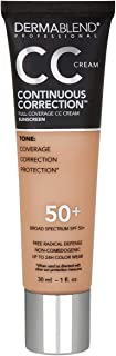 Dermablend Continuous Correction CC Cream, Shade: 40N, 1 fl. oz.