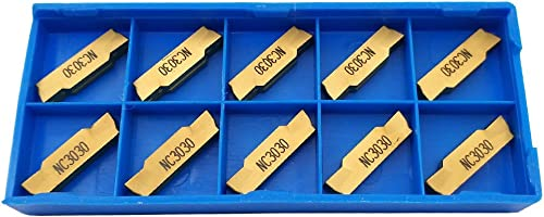 2021 10PCS MGMN400-M lowest NC3030 Indexable Solid Carbide Turning Grooving outlet sale Insert Blade For Processing Steel online
