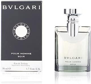Bvlgari Pour Homme Soir Eau De Toilette Spray, 50.27ml