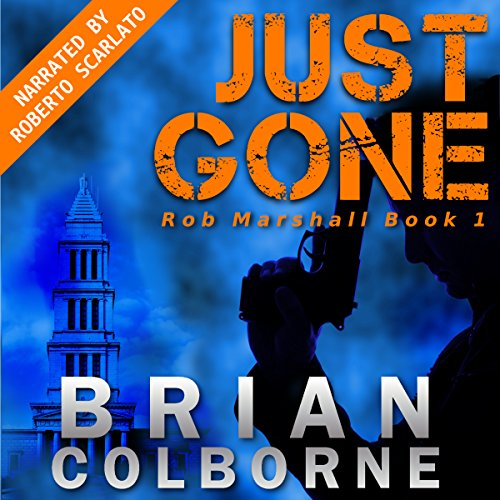 Just Gone audiobook cover art