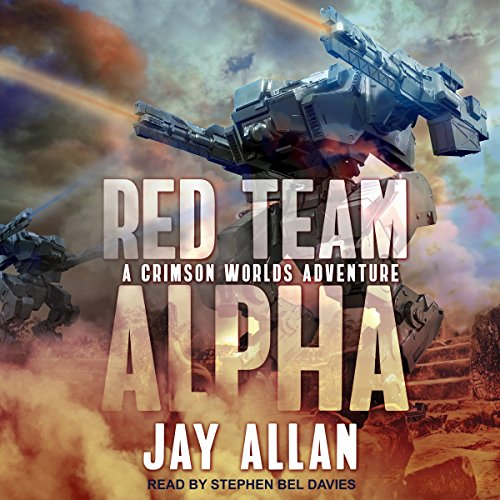 Red Team Alpha audiobook cover art