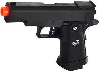 spring airsoft gun g.10 zinc alloy shell heavy duty metal pistol with free 1000 bb's bullets ammo(Airsoft Gun)