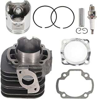 ECCPP New Cylinder Piston Ring Gasket for 2001-2006 Polaris 90 Sportsman 90cc Compatible fit for Cylinder Piston Gasket Top End Kit 4J2-11111-00-00