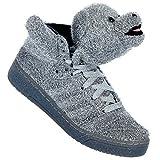 Adidas Originals by Jeremy Scott Obyo - Zapatillas unisex, Oso de peluche., 41 1/3 EU