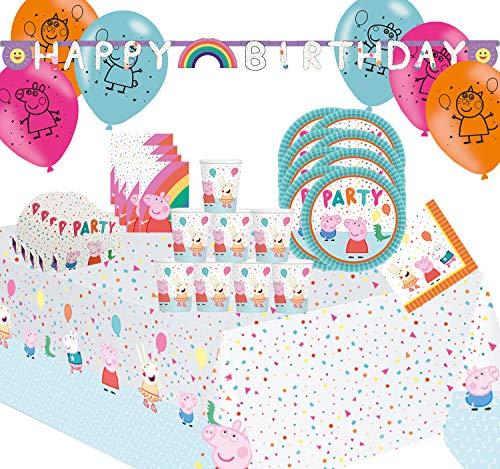 Juegos de fiesta diferentes temas de cumpleaños fiesta de cumpleaños infantil (Peppa Pig)