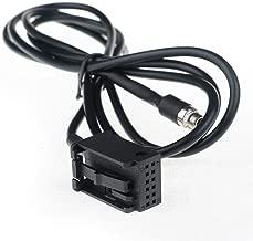 AliceWindow in Car Female 3.5mm MP3 AUX Input CD Adapter Changer Cable Compatible for BMW E39 Z4 E85 X3 E53 E83 E60 E61 E63 E64 MP3 Player
