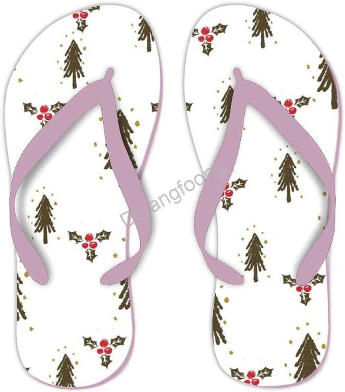 Merry Christmas Flip Flop Milwaukee Mall Designer Cute High quality Sanda Sandals Soft Thong