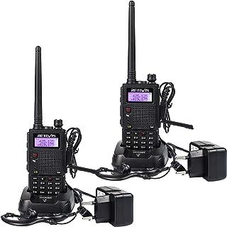 comprar comparacion Retevis RT5 Walkie Talkie Recargable Largo Alcance Banda Dual 128 Canales Función VOX Radio FM LED Linterna Walkie Talkie ...