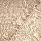 Stoff Leinen Baumwolle Polyester Fischgrat natur Polster