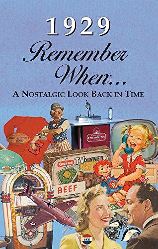 Seek Publishing RW1929 Remember When Kardlet