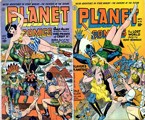 Planet Comics. Issues 31 and 32. Weird adventures on other worlds. The...