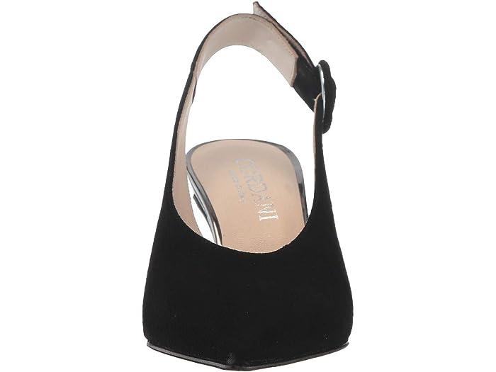 Cordani Noa Black Suede Heels