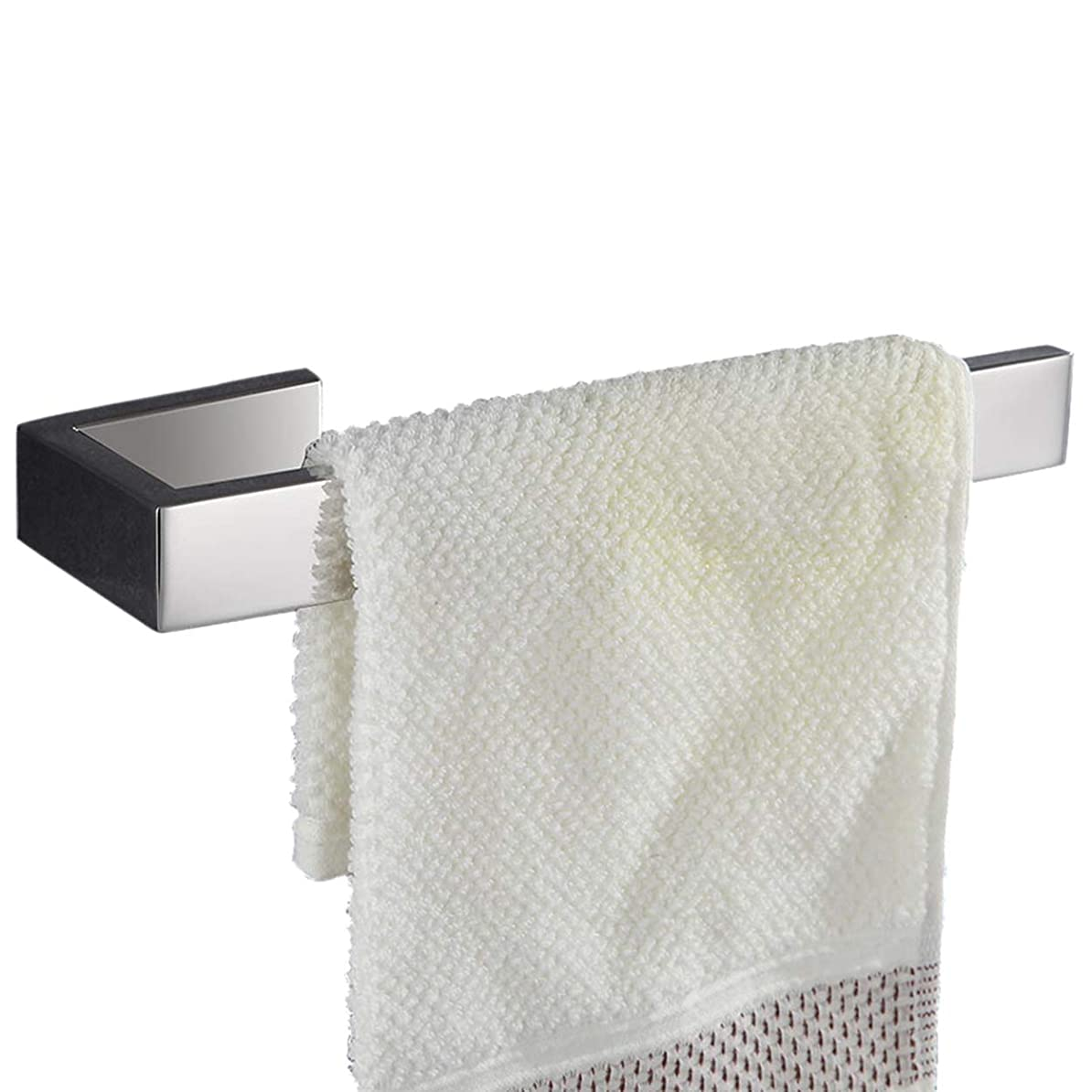 南西お風呂を持っているスイス人Flybath タオルリング SUS 304 ステンレス タオル掛け タオルハンガー おしゃれ ホーム キッチン バスルームアクセサリー ウォールマウント ねじ取付、21 cm 鏡面研磨