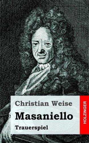 Masaniello: Trauerspiel